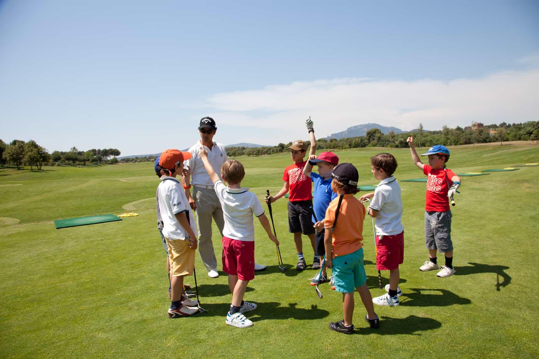Golf academy Barcelona