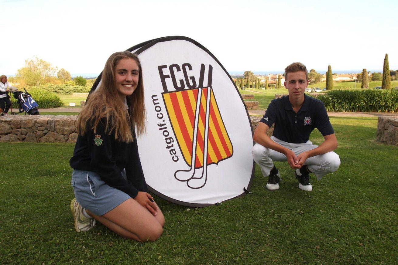 Andrea Garcia Play andrea de sentmenat new catalunya's champion 2018 at golf