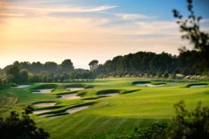 amanecer en el Club de Golf El Prat