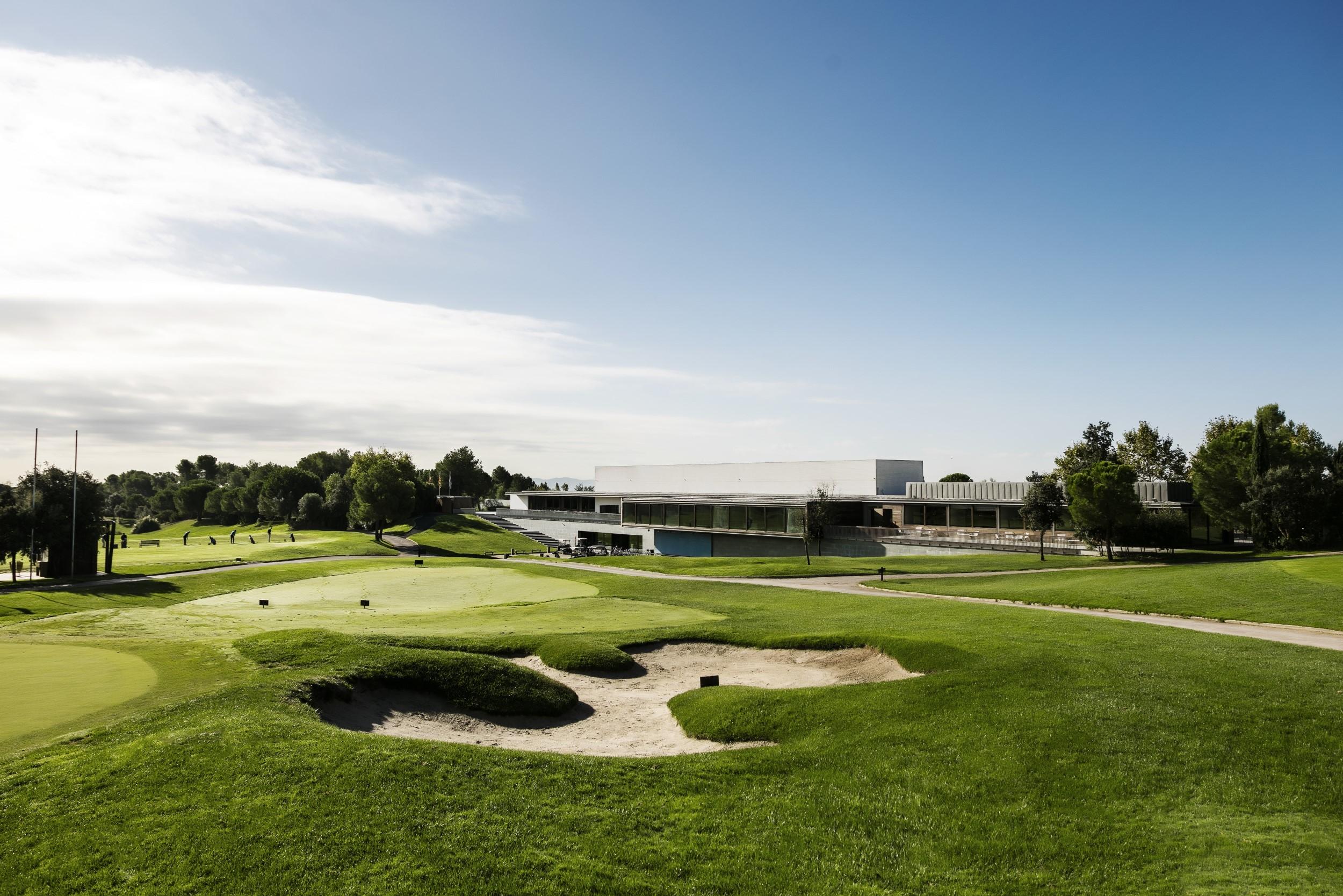 campo de golf en barcelona